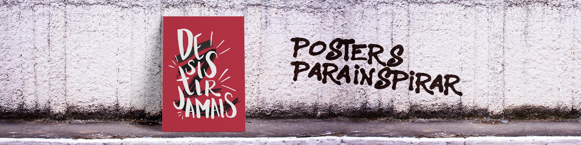 posters com frases inspiradoras